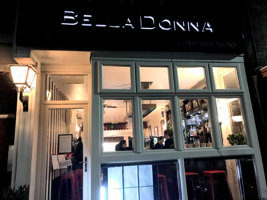 Review: Bella Donna, Sharrowvale…or is it Palermo??
